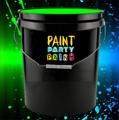 gallon washable neon paint green jena consulting llc dba paint. Black Bedroom Furniture Sets. Home Design Ideas