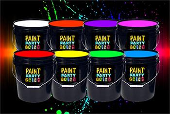 gallon washable neon paint jena consulting llc dba paint. Black Bedroom Furniture Sets. Home Design Ideas