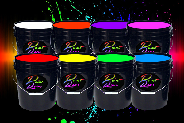 5 Gallon Washable Neon Paint<br>$79.00