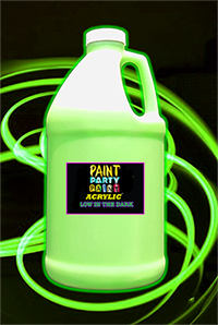 ½ Gallon Acrylic Luminous (Glow in the Dark) Paint